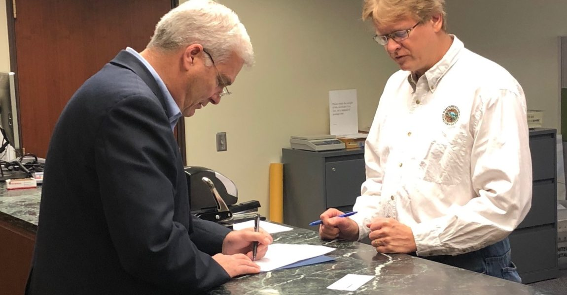 Emmer Files for Reelection